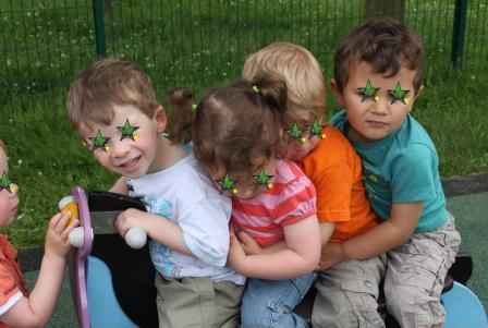 Le mardi 18 juin 2013 Pique-nique avec tous les enfants