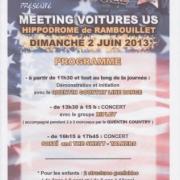 Le dimanche 2 juin 2013  au meeting des voitures Américaines